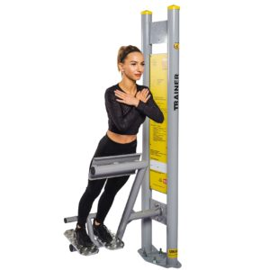Outdoor Fitnessgeräte Rückenstation