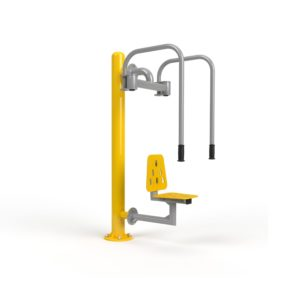 Butterfly Revers + Pole Outdoor Gym Equipment
