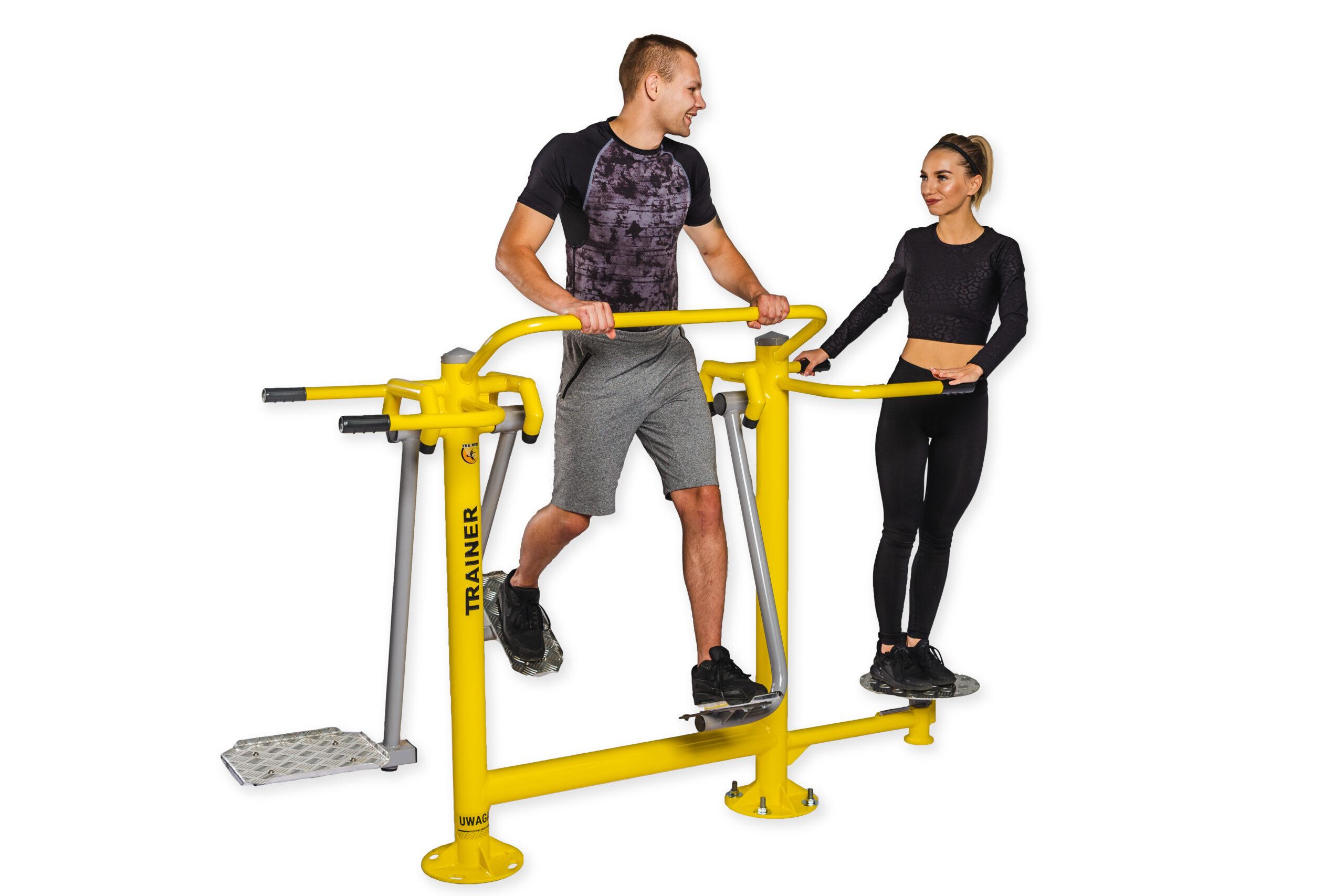 Surfer + Air Walker + Twister Outdoor Gym Equipment