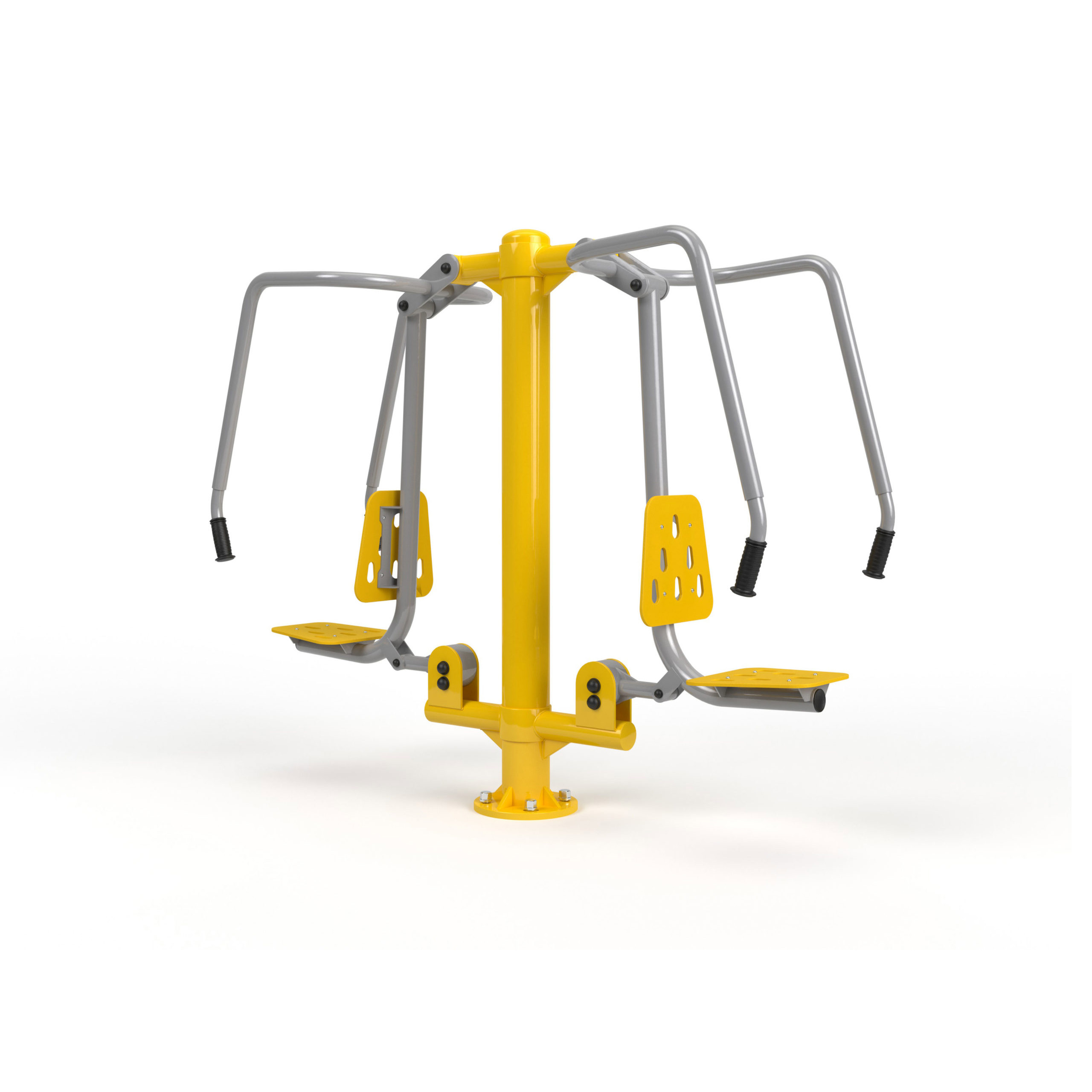 Outdoor Fitness Equipment - product visualization