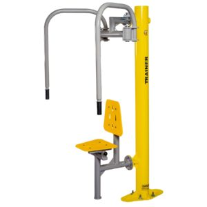 Butterfly Revers + Pole Outdoor Fitness Equipment