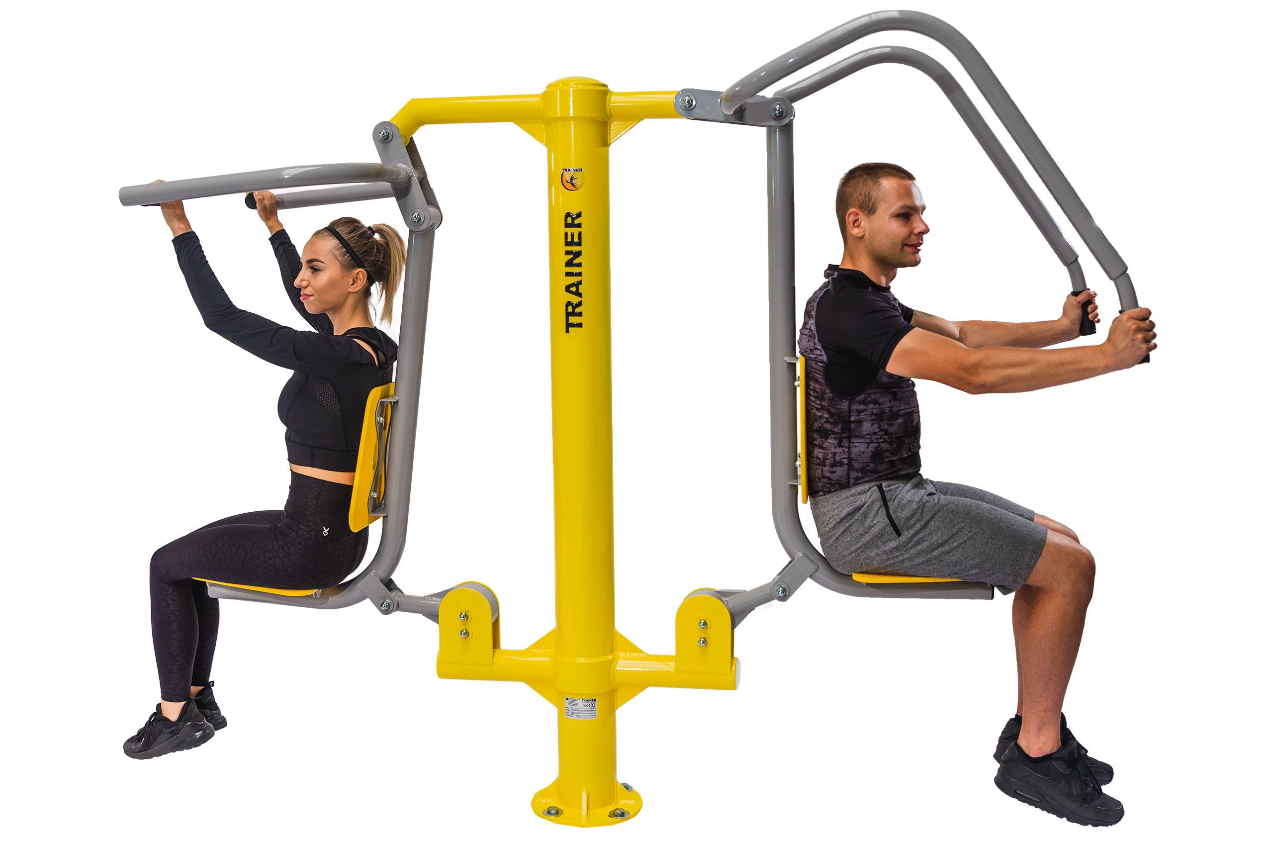 Push & Pull Chairs Outdoor Fitness Equipment