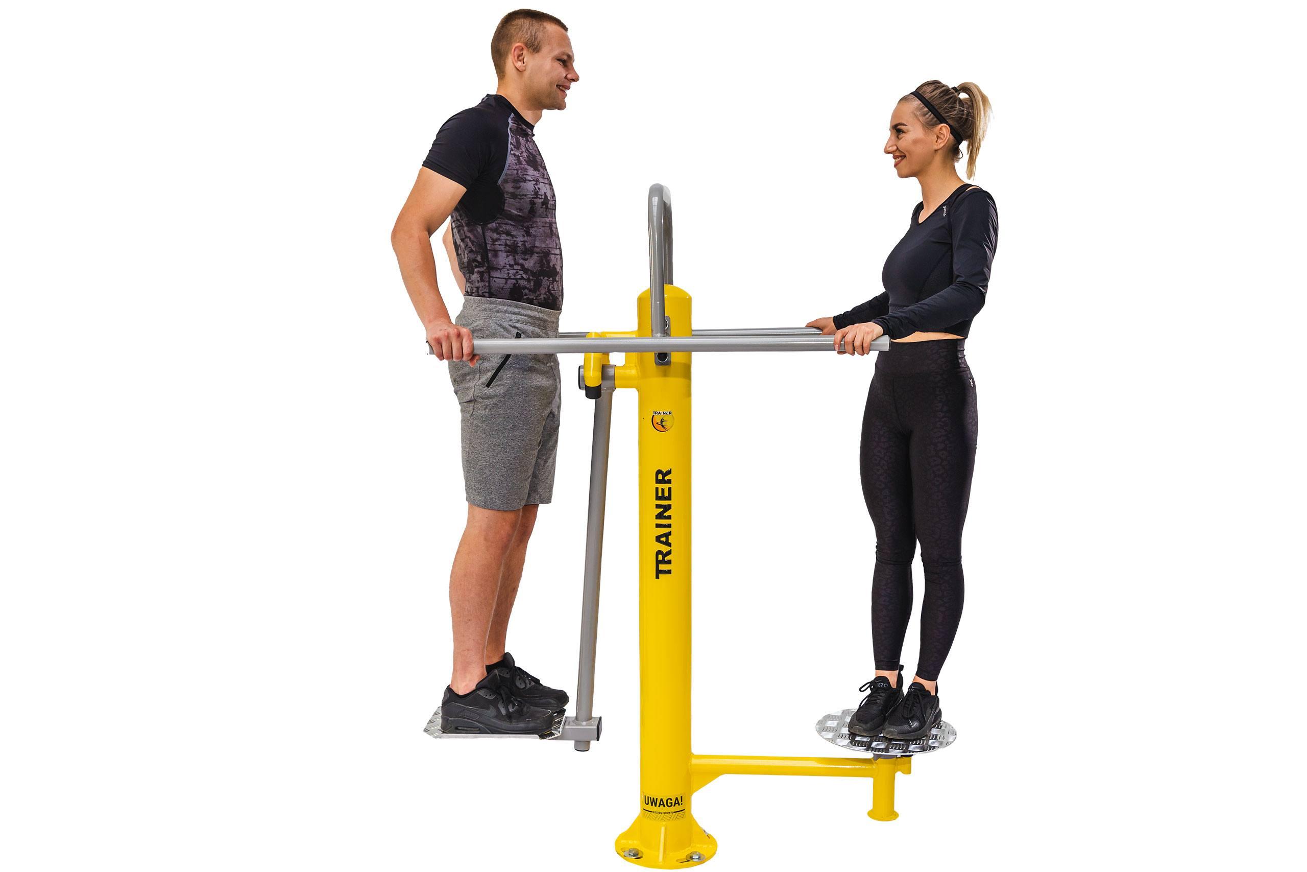 Twister & Surfer Outdoor Fitness Equipment