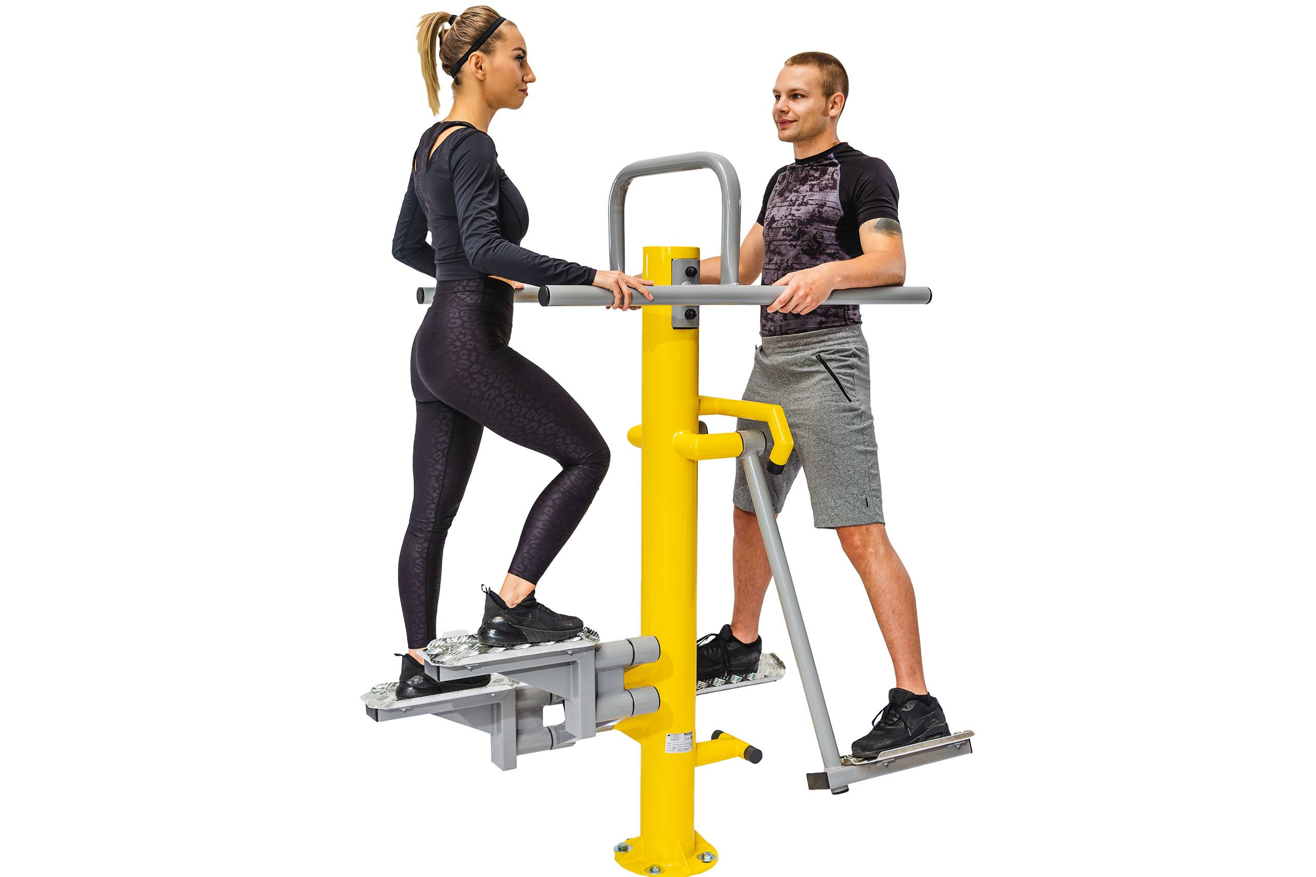 Abductor & Stepper Outdoor Fitness Equipment