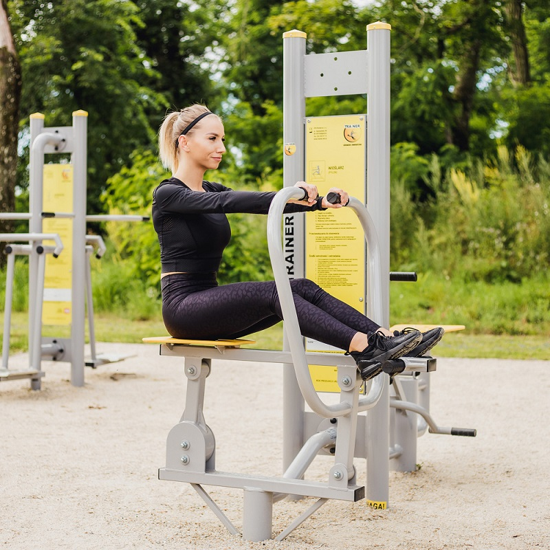 <span>Outdoor Gym Equipment and Outdoor Fitness Parks </span> TRAINER Made in Europe.  Let's Be Active!